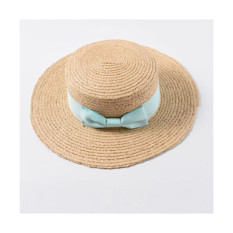 High quality wholesale folding sun visor wide brim straw hat