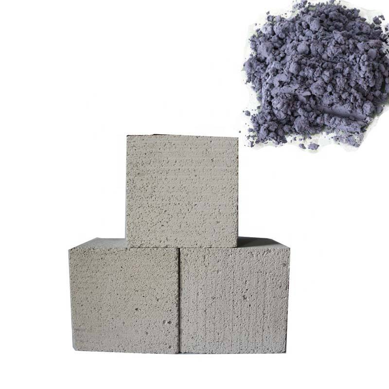Aluminium powder for concrete foaming material fine spherical aluminium powder