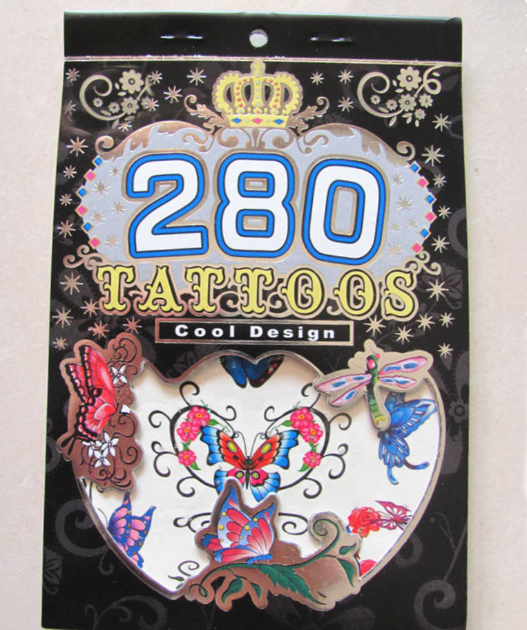 Tattoo Book 280 Tattoos Stickers