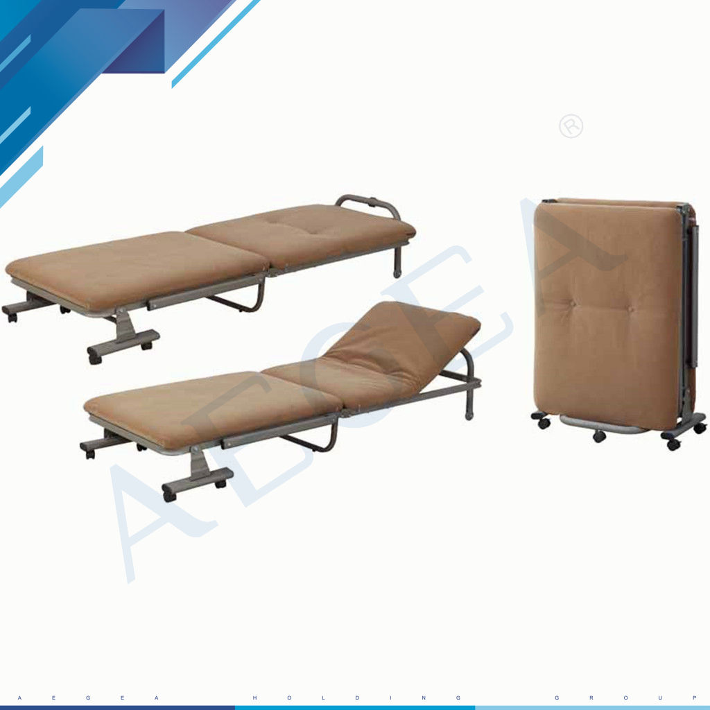 AG-AC010 folding portable hospital accompany used foldable hospital movable sleeping bed