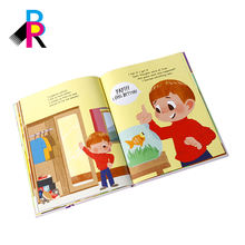 Custom Designed Offset Printing Children's Coloful Picture Hardcover Book