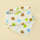 Wholesale 100% Cotton Baby Triangle Saliva Towel