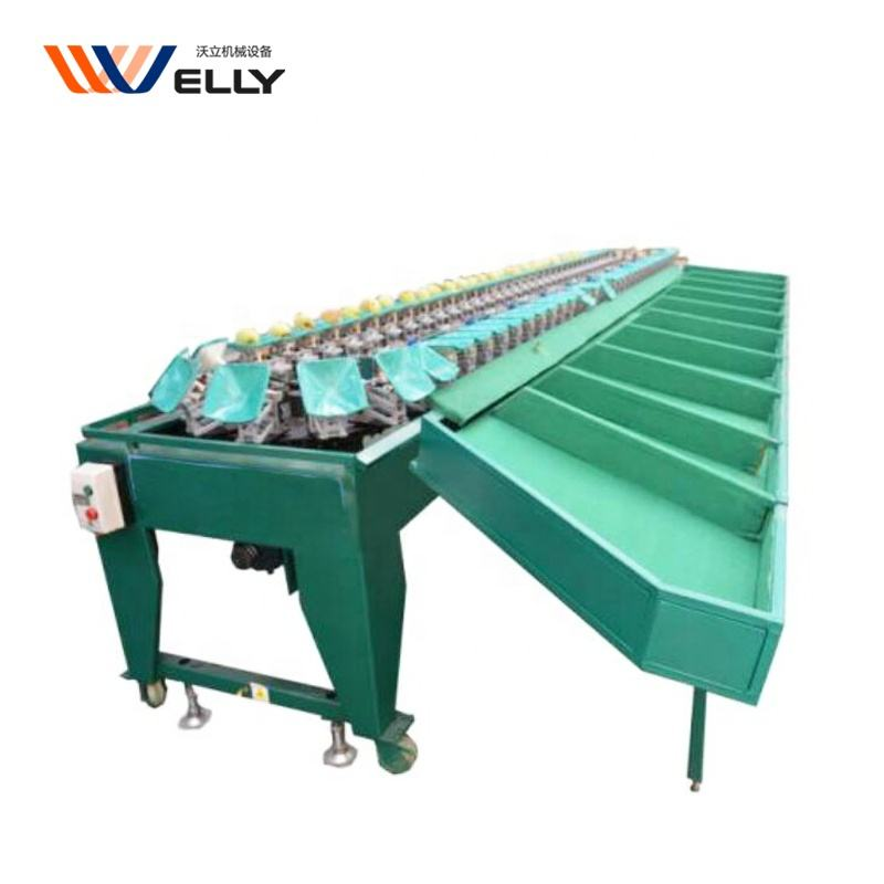 Scale sorting fruit/ fruit waxing sorting citrus grading machine/ round fruit grading packing fruit sorter machine