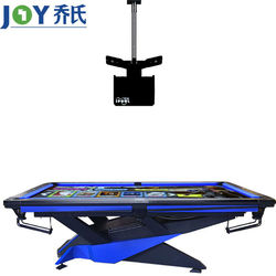 Factory direct sale interactive pool table billiards game projection