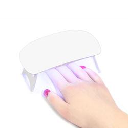 XZMUV Custome sun mini usb uv led nail dryer 9w led lamp portable nail lamp wirless for fingernails toenails