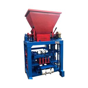 small soil interlock clay brick machine price in nepal QTS2-25 compressed earth block machine for sale used