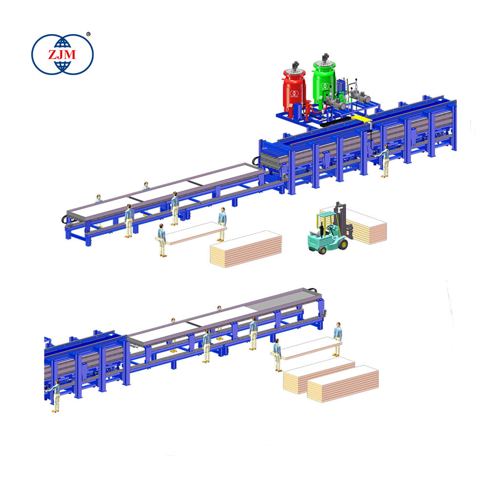 Competitive Factory Price Discontinuous PU Sandwich Panel Production Line