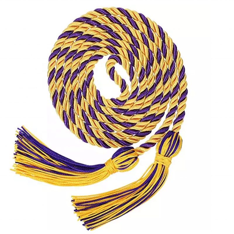 Factory Direct Sales Decorative Cord/ Graduation Honor Cords