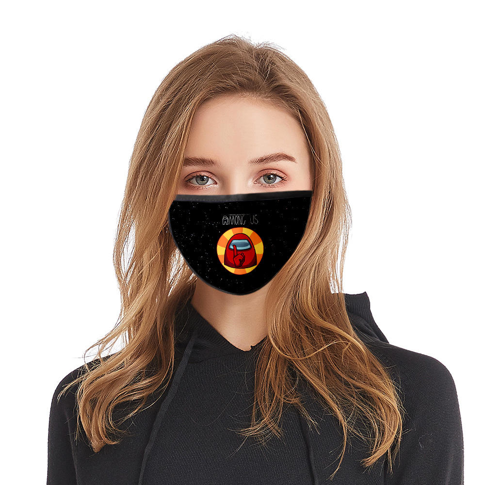 Free shipping Wholesale Disposal Custom Design Reusable Anti Pollution Anti Water Black Fashion Cotton Face Maskes