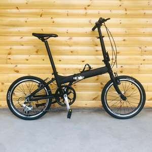 20 inch folding bike with V brakes 8 speeds 20 inch mini bicycle Aluminum Alloy Folding Bicycle