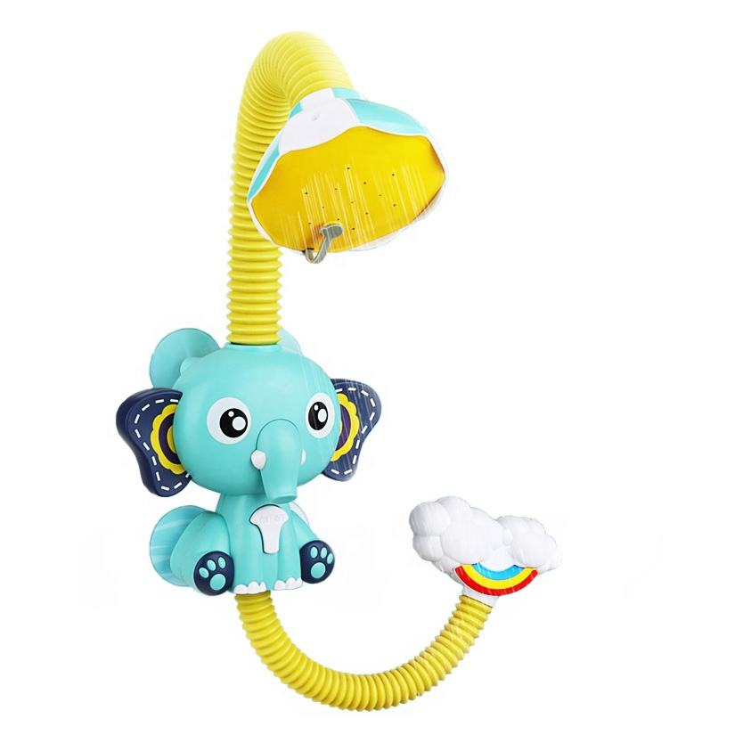 New Baby bath toy animal plastic toys spray water electric shower sprinkler bath water game bath toys