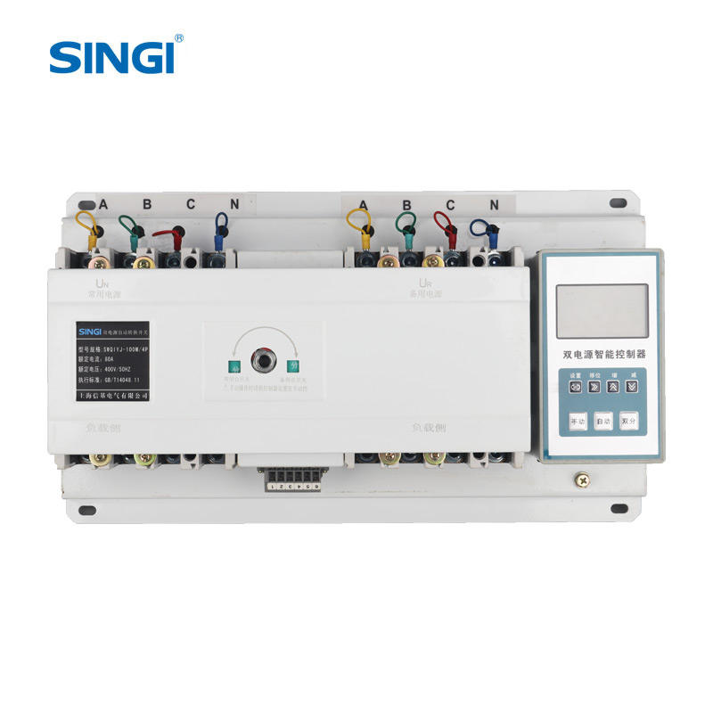 Singi SWQ1YJ <span class=keywords><strong>ATS</strong></span> 3 Phase 80A Automatic Transfer Switch