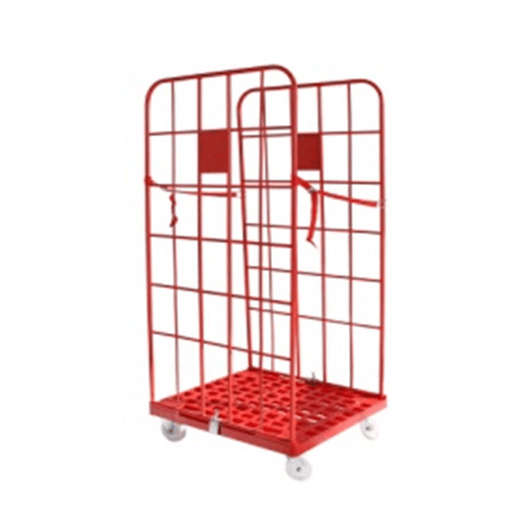 Wholesale cart wire mesh roll container storage rolling cage cart