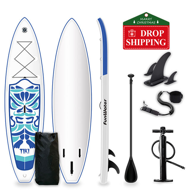 Good quality PVC board double layer sup paddleboard surfboard for sale