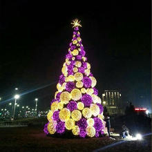 New year decor giant christmas artificial tree PVC christmas tree