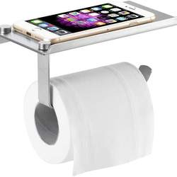 SUS304 Multifunctional Mobile Phone Shelf Toilet Paper Holde