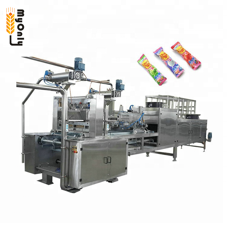 Machine gummy candy for taffy and vitamin pure gummy make