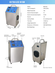Water Treatment Machinery Industrial Ozone Generator For Water