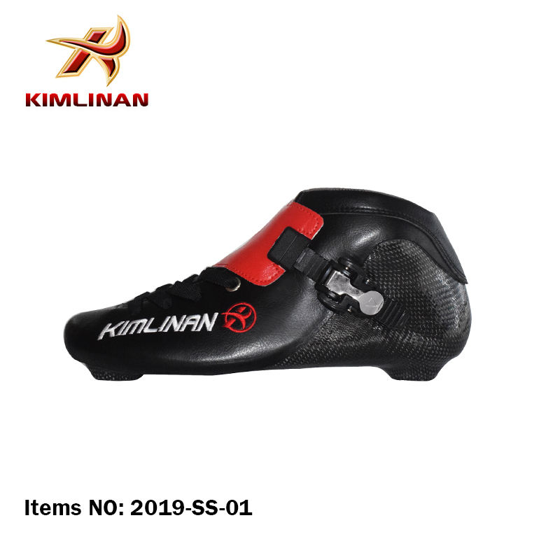 2019 New release Inline Speed Skate Boot, Full Carbon Speed skate boot