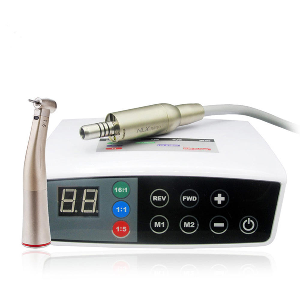 Electric Brushless Motor / Micro Motor Dental Dental Micromotor With Water and Light Dental equiment use