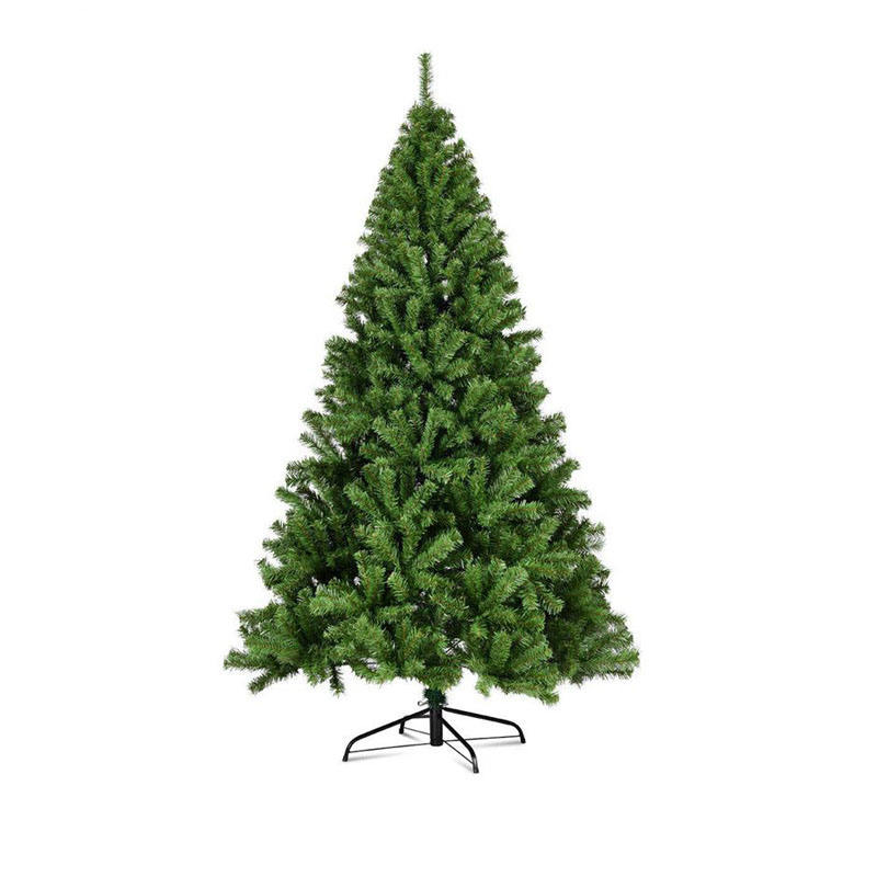 2020 New Model Factory Direct Sales Customized Sizes PVC Green Christmas Tree Decorations Simulation Tree