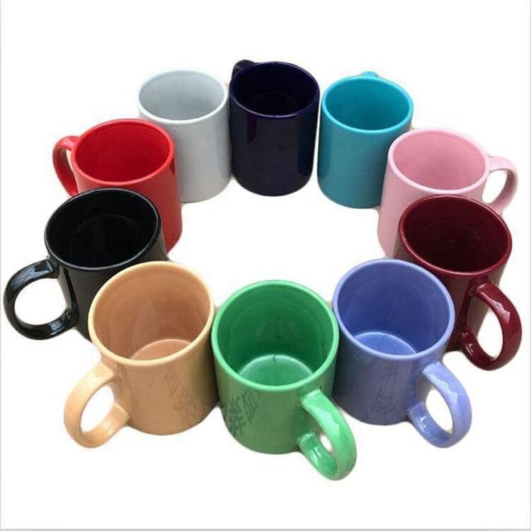 Custom Made Logo Cheap Price 12oz 350ml Porcelain Promotional Ceramic Sublimation Coffee Mug Cups Supplier Blanks For Sale