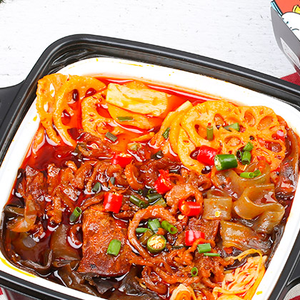 Hot Sale Spicy Haidilao Instant Food Self Heating Lazy Hotpot With Full Beef