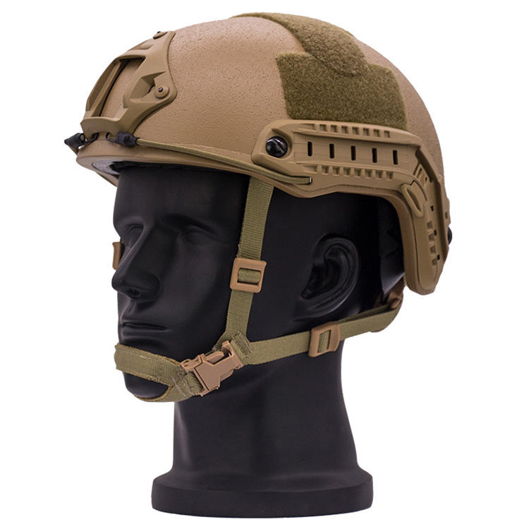Aramid Coyote Brown New Occ-Dial Bulletproof Helmet NIJ IIIA Level FAST Ballistic Helmet