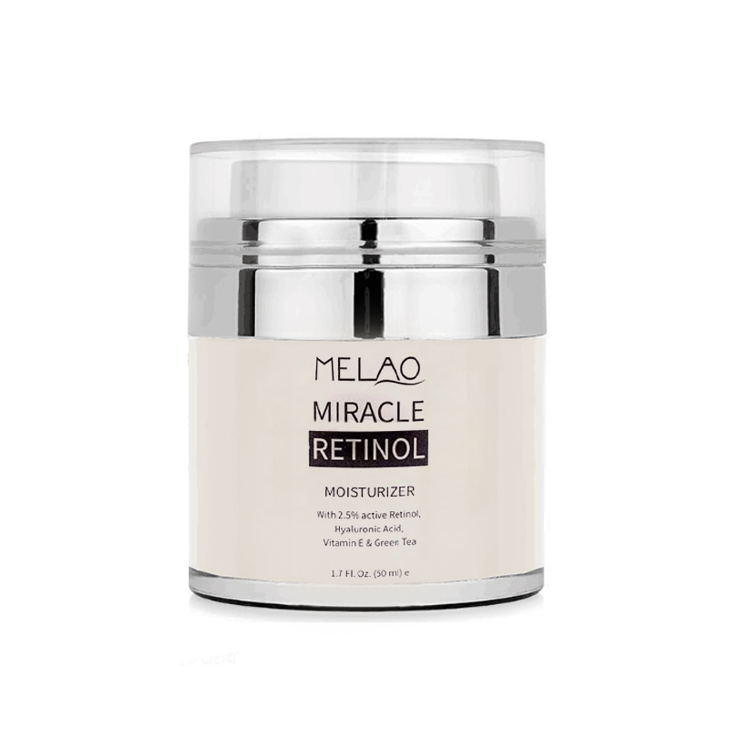 Private Label Anti Aging Miracle Retinol Moisturizer 5% 2.5% Active Facial Vitamin C E Retinol Cream