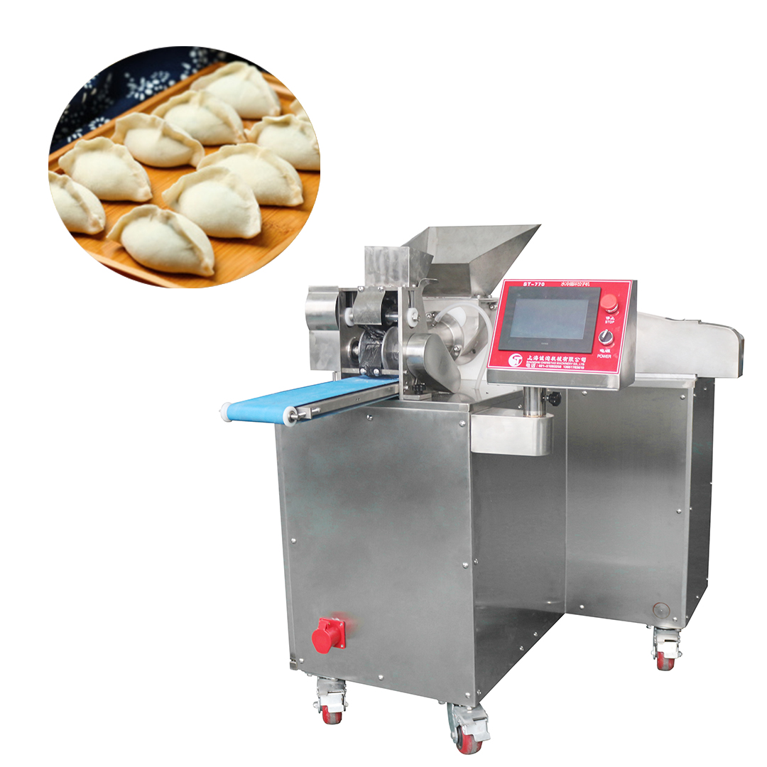 Automatic maker empanada samosa dumpling making machine