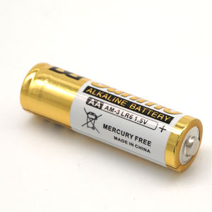 good quality lr6 aa alkaline battery 1.5v dry battery