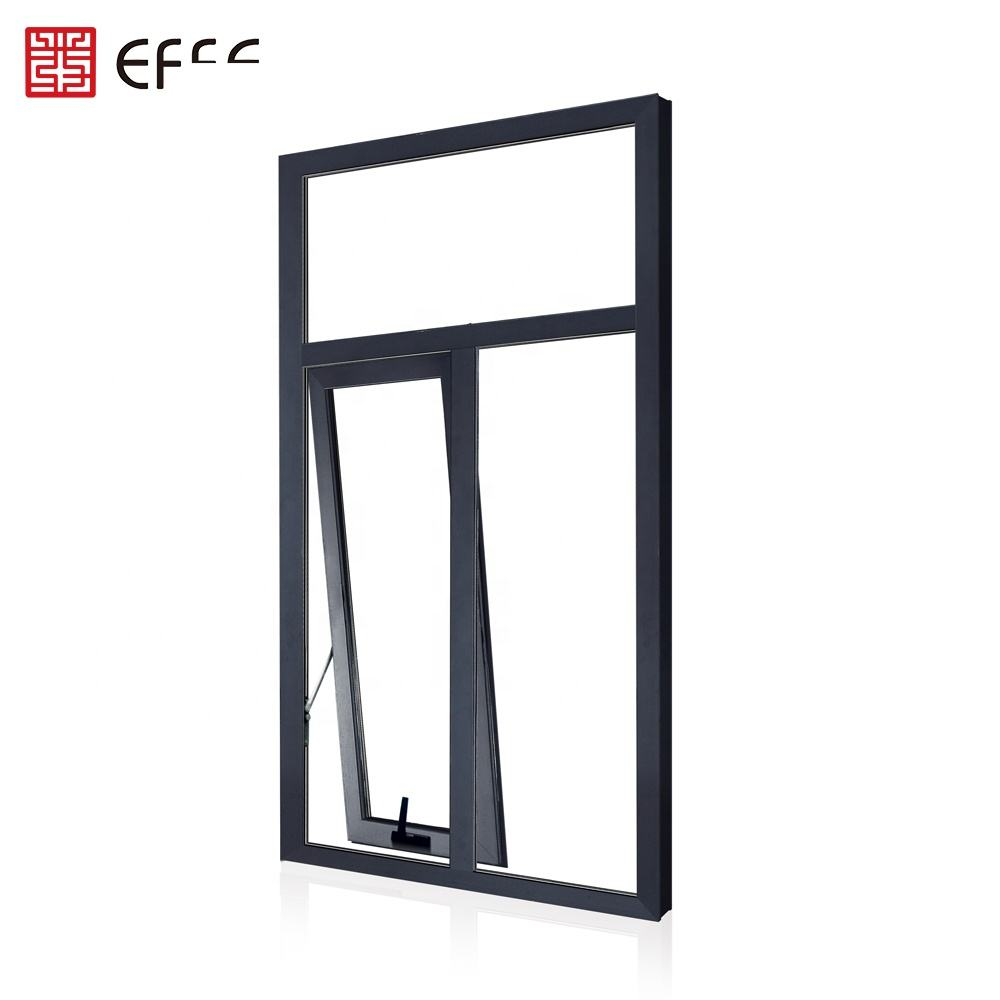 heavy duty bullet proof top quality crank aluminum window for awning window style