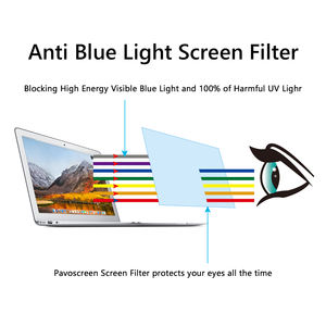 15.6 inch Anti Blue Light Adhesive Screen Film for iPad/Laptop/Desktop Computer Touch Sensitive Glue Layer Screen Protector