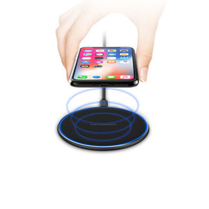 Over-Power Protection OEM choetech สแควร์ Wireless Charger โทรศัพท์
