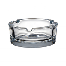 Wholesale custom logo ashtray custom glass