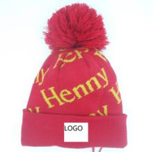 wholesale woven patch custom hat winter beanies
