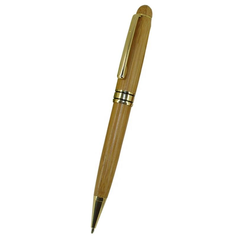 ACMECN Hot sale Popular Office & School Writing Stationery Natural Eco-friendly Bamboo Pen set Simple & Cute Back to School Pens
