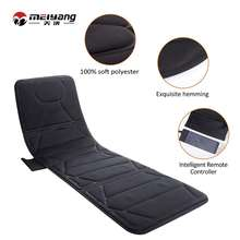 Korea beauty spa relax electric full airbag massage mattress,massage mat portable