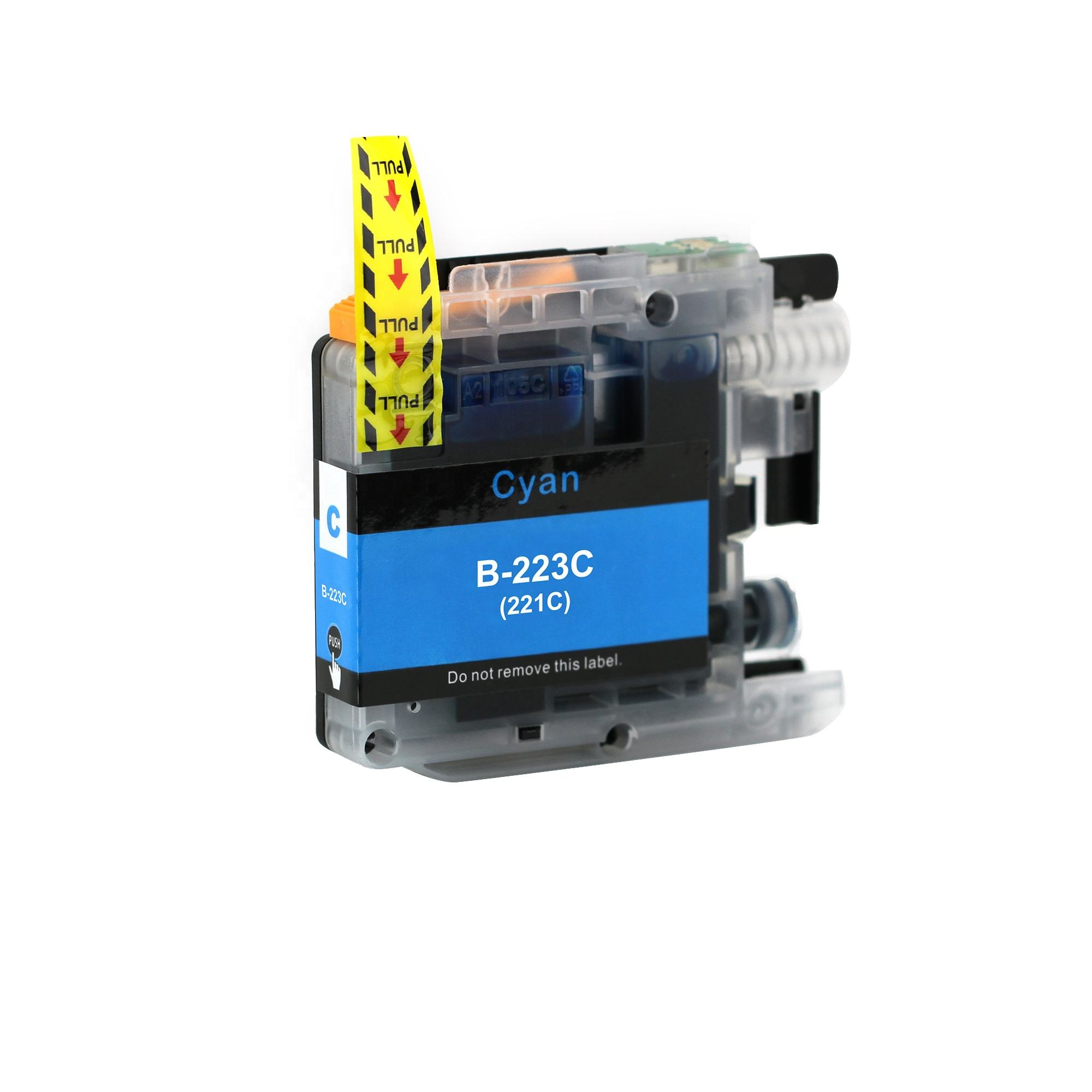 LC223 compatible printer ink cartridge for brother use in DCP-J4120DW/J562DW chip replacement refillable looking wholesale
