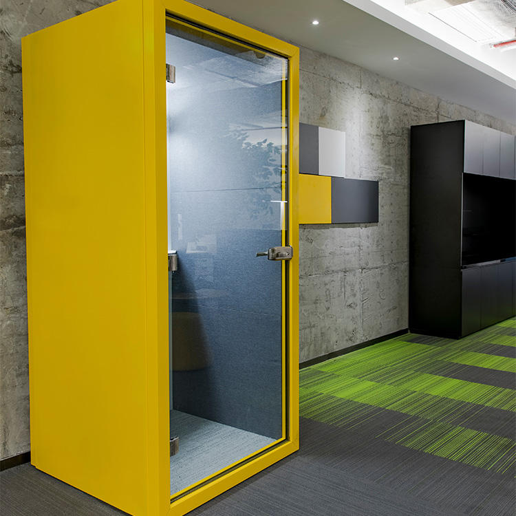 Modern telephone booth privacy soundproof office phone booth