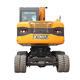 Excavator Hydraulic Hydraulic Excavators XINIU 9 Ton Excavator X9 Wheel Crawler Excavator Hydraulic Excavator