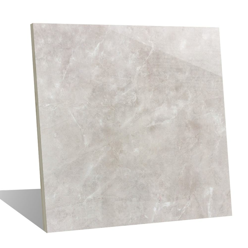 Modern bathroom design natural marble look grey wall glazed cheap floor tile ceramic