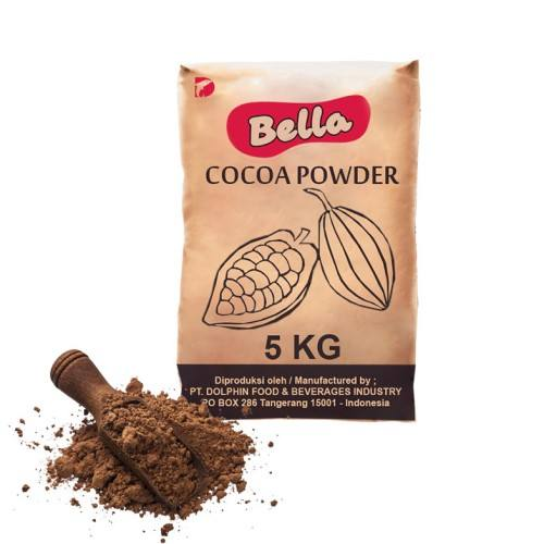 Hot Selling Indonesian Bella Cocoa Powder Bulk Packaging for Export