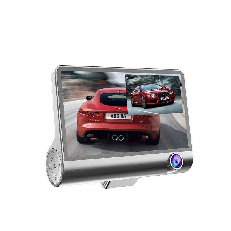 Best Seller Triple Lens 1080P Car Camera Recorder with 4 inch IPS Screen