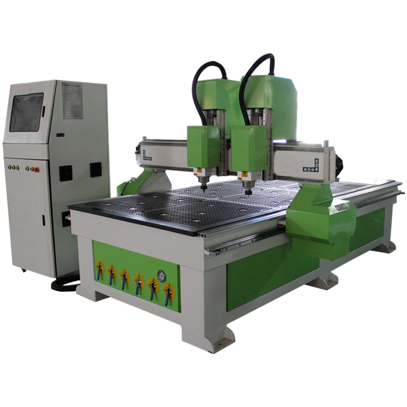 Italy two spindles CNC router 2040 Woodworking CNC router machine 1325 price