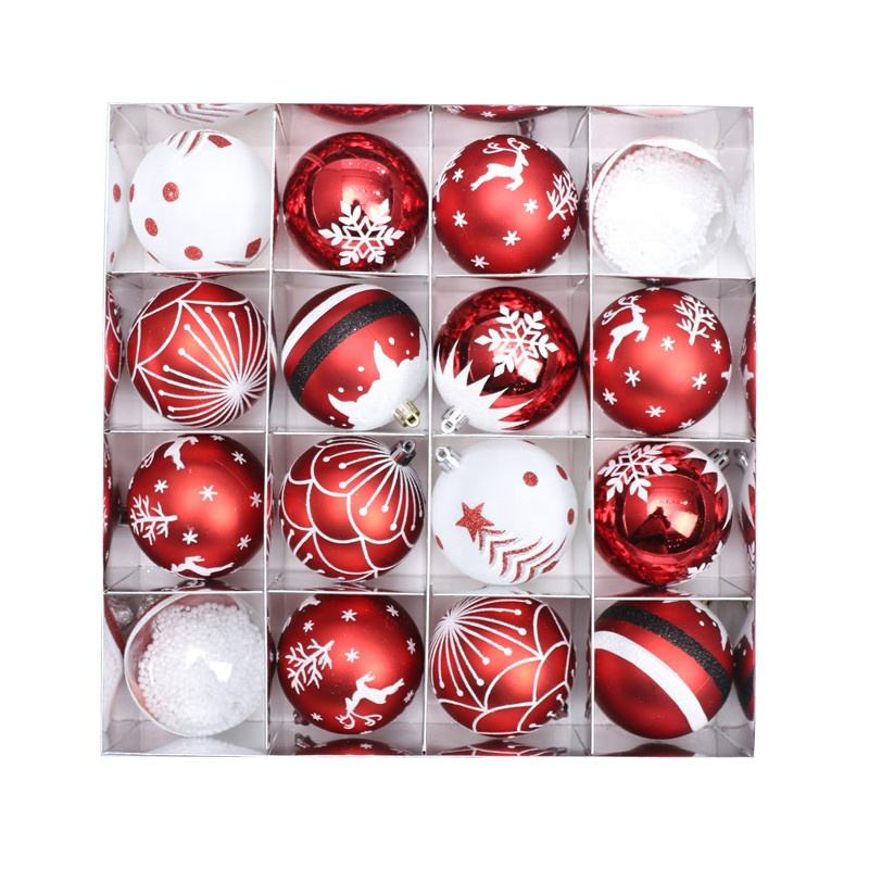 Popular Festive Gift Glass Hanging Christmas Tree Decorations Design Christmas glass Ball