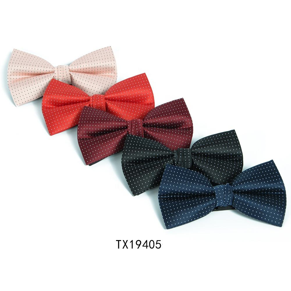 Men 100% silk bow tie self novelty bowtie bowknot bow tie for shirt