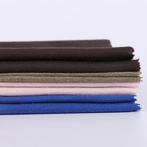 High Quality Elastic Stretch Soft Plain Viscose Knitting Jersey Fabric For Garment