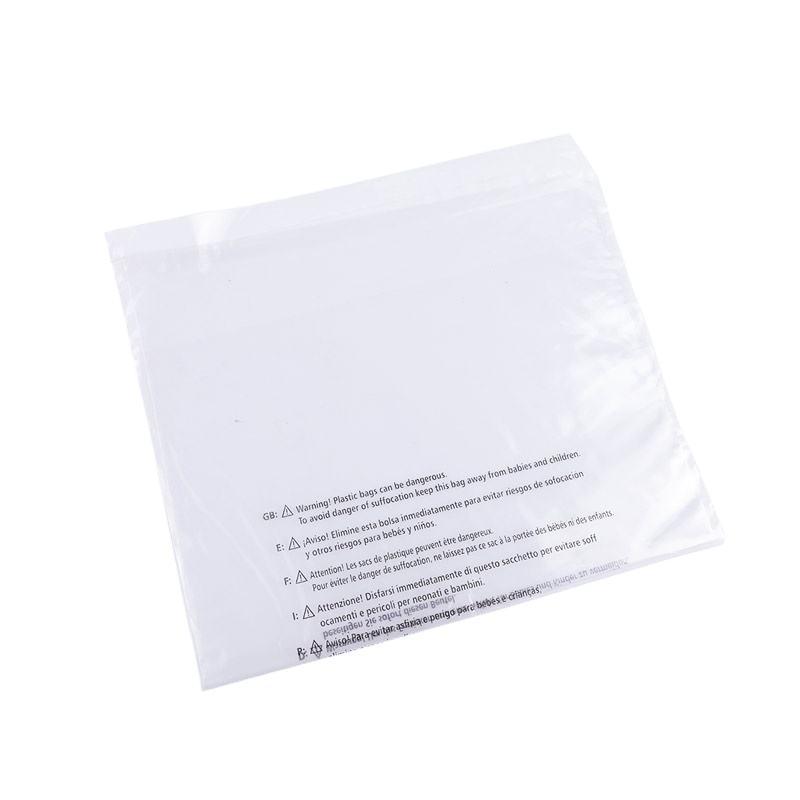 Biodegradabile <span class=keywords><strong>sacchetto</strong></span> di indumento autoadesivo trasparente poly impermeabile forte sacchetti di plastica