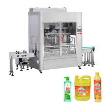 High Quality Customizable Automatic Dishwashing Liquid Filling Machine Production Line